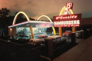1950s McDonalds, mcdonalds, image