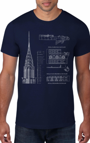 Chrysler-Building-Black-Crew-Neck