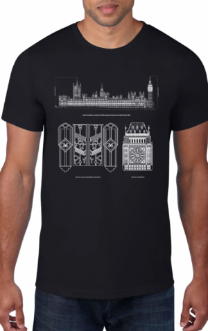 Houses-of-Parliament-Westminster-Palace-Black-Crew-Neck