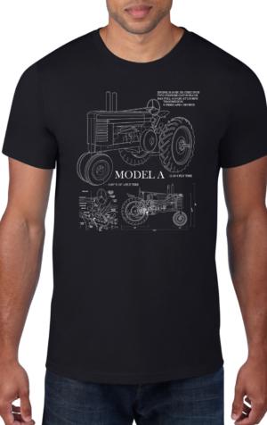 Tractor-Black-Crew-Neck