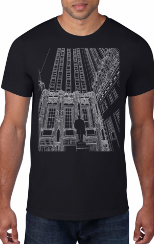 Tribune-Tower-Black-Crew-Neck