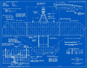 1903 Wright Flyer Blueprint